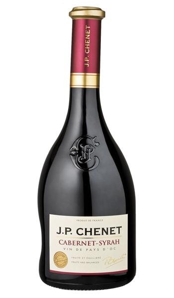 J.P. CHENET    MERLOT-SYRAH