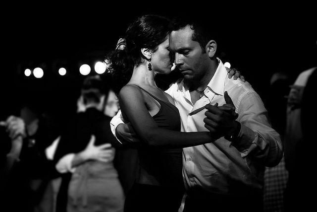 tango šola - v objemu
