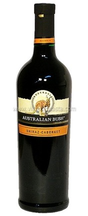 Australian bush shiraz-cabernet