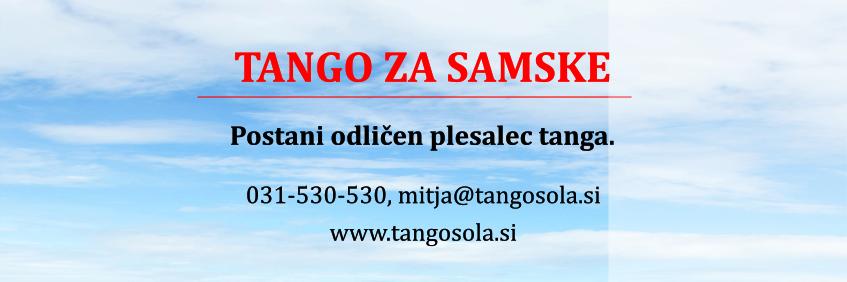 Tango za samske - spodaj